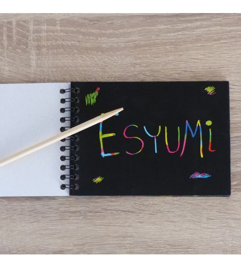 Láminas para rascar - scratch art para niños