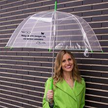 Debajo de este paraguas hay una persona maravillosa