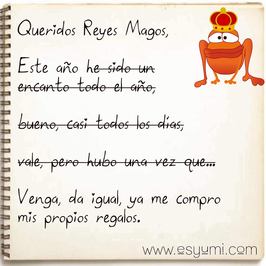 Queridos reyes magos esyumi