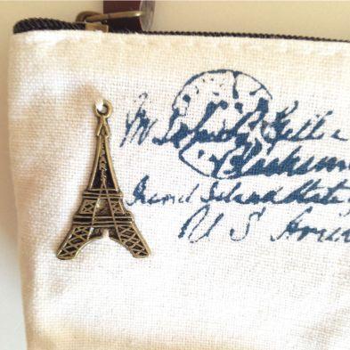 Monedero Torre Eiffel (tela)