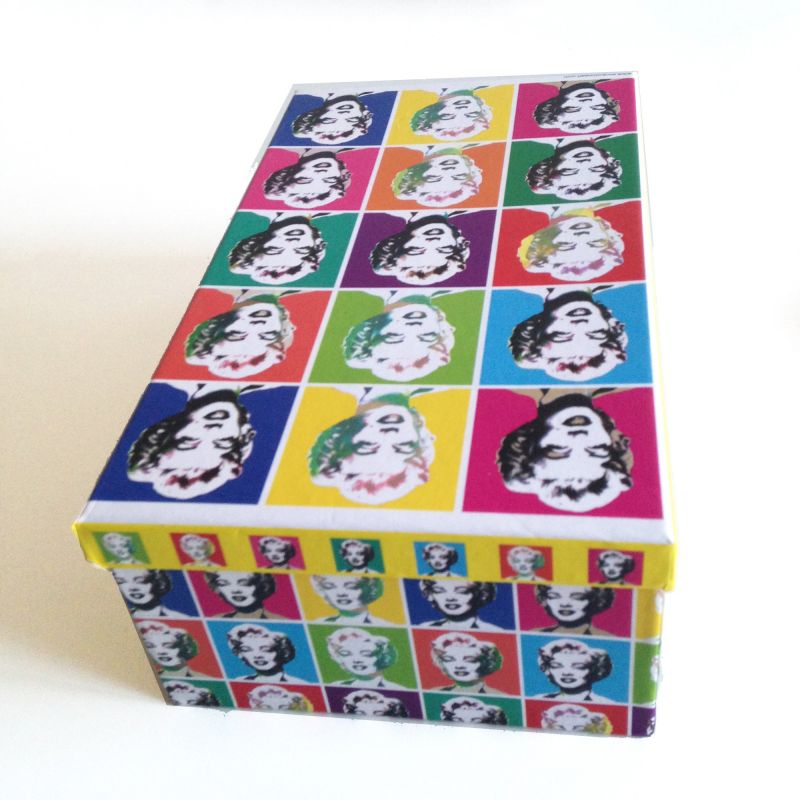 Caja pop art Marilyn Monroe
